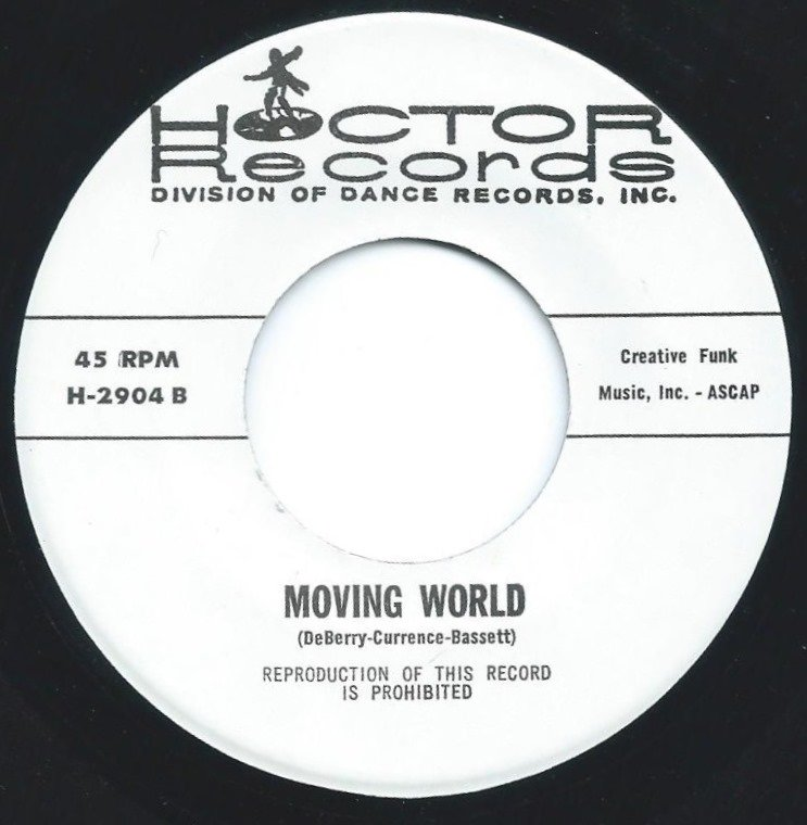 HOCTOR BAND / MOVING WORLD / GET IT ON (7