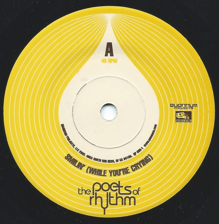 THE POETS OF RHYTHM / SMILIN' (WHILE YOU'RE CRYING) / GUIDING RESOLUTION (7
