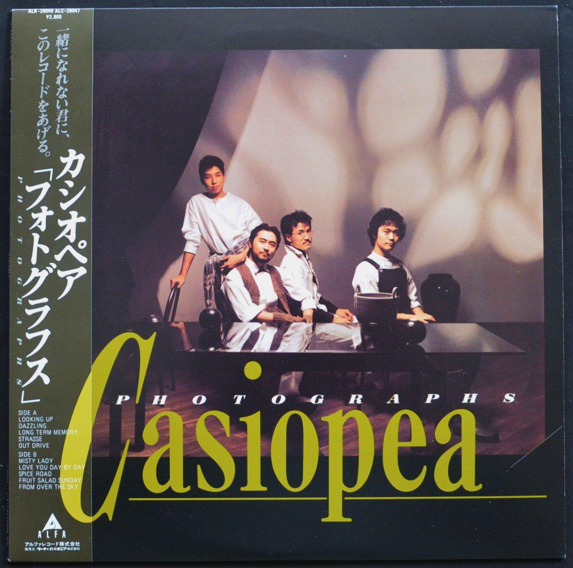 カシオペア CASIOPEA / フォトグラフス PHOTOGRAPHS (LP)