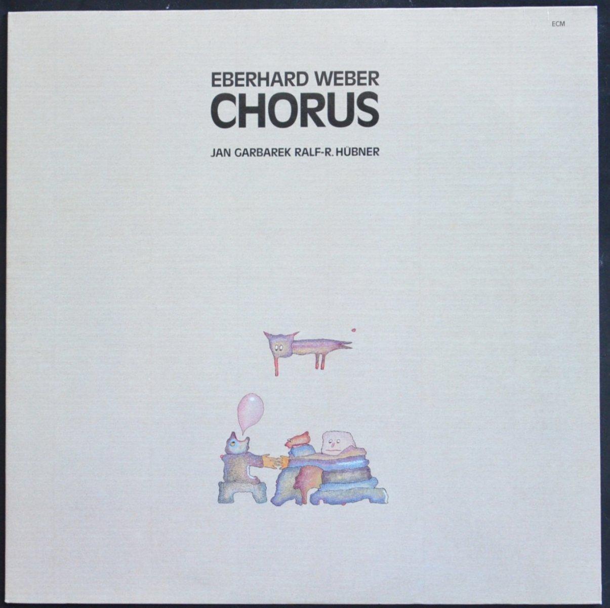 エバーハルト・ウェーバー EBERHARD WEBER / コーラス CHORUS (LP)