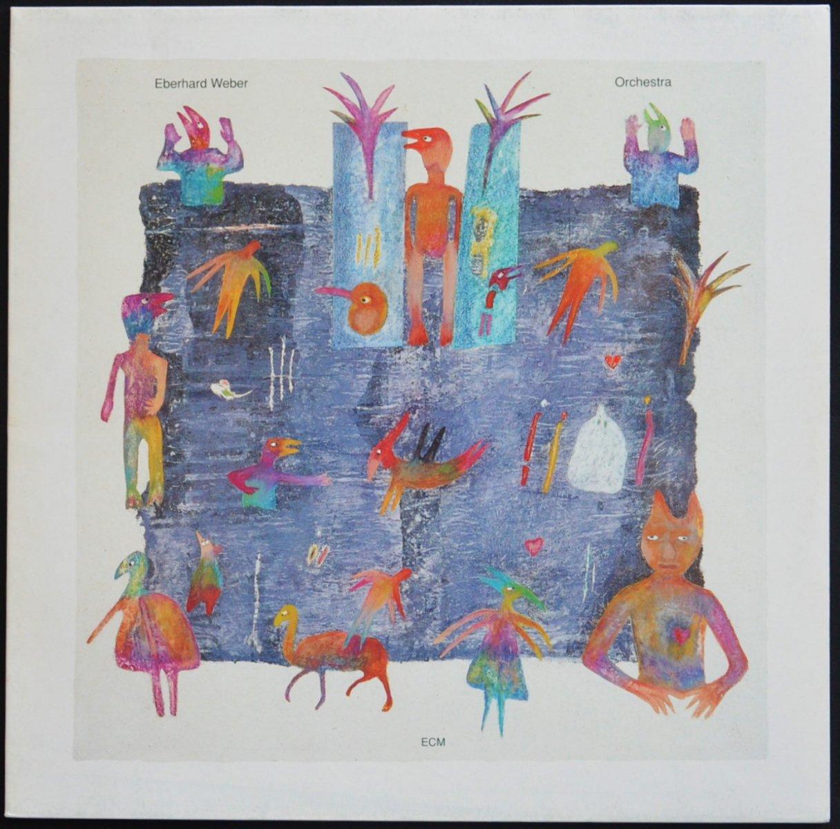 EBERHARD WEBER / ORCHESTRA (LP)