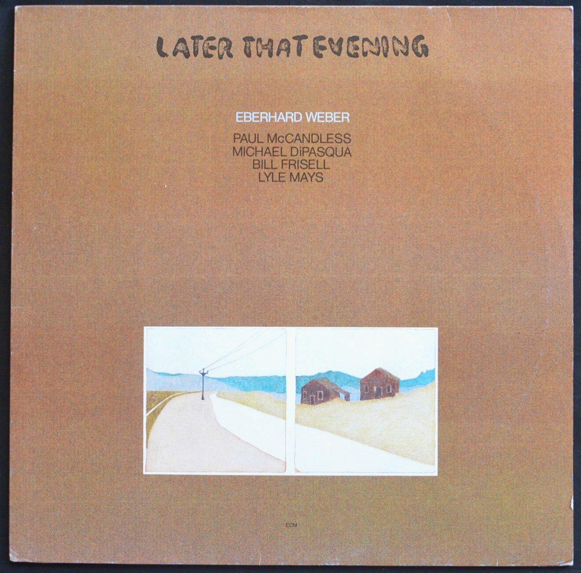 EBERHARD WEBER / LATER THAT EVENING (LP)