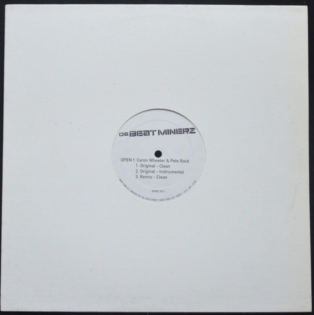 DA BEATMINERZ / OPEN (FEAT CARON WHEELER,PETE ROCK) / ANTI-LOVE MOVEMEN (12