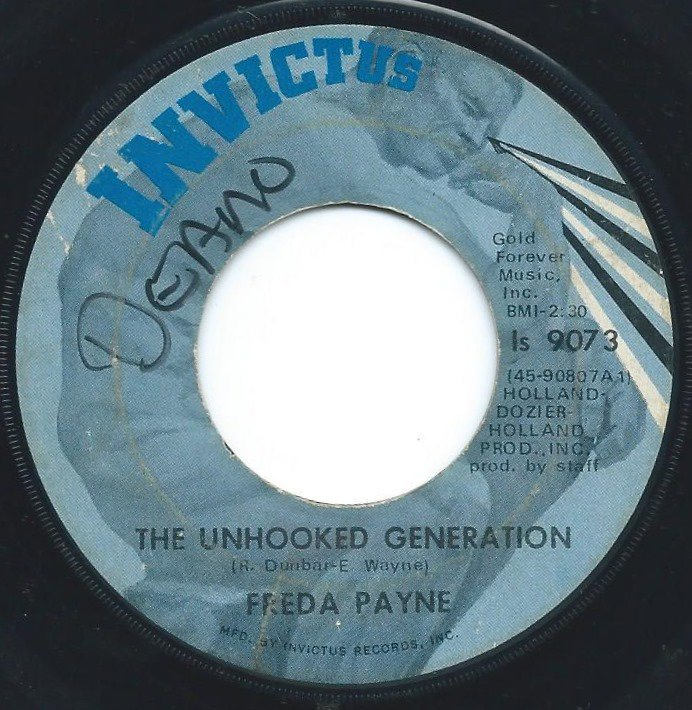 FREDA PAYNE / UNHOOKED GENERATION / THE EASIEST WAY TO FALL (7