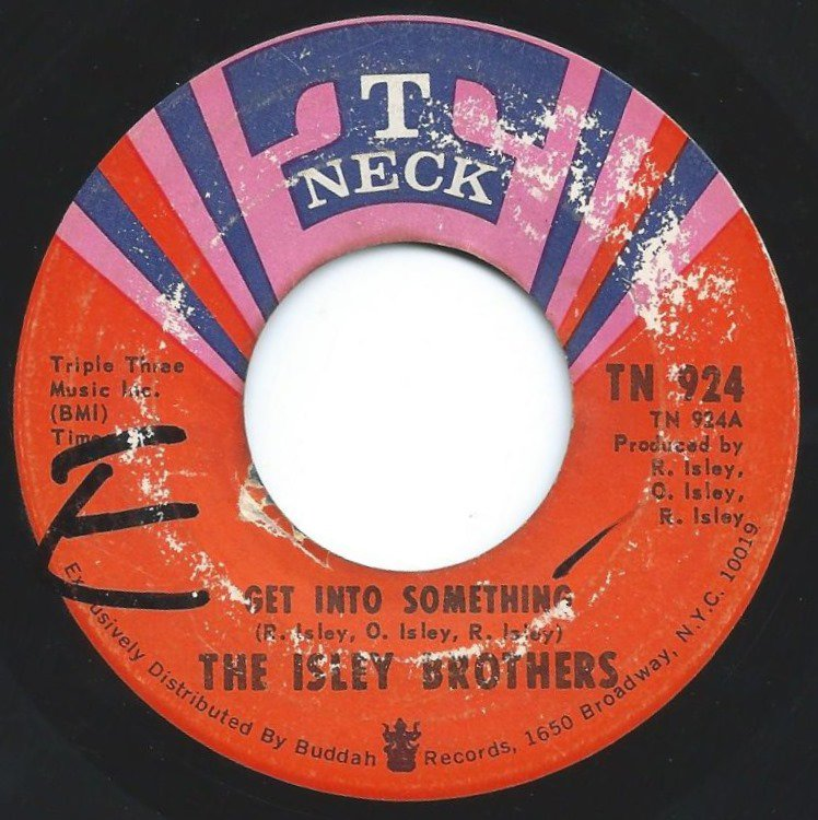 ISLEY BROTHERS / GET INTO SOMETHING (7