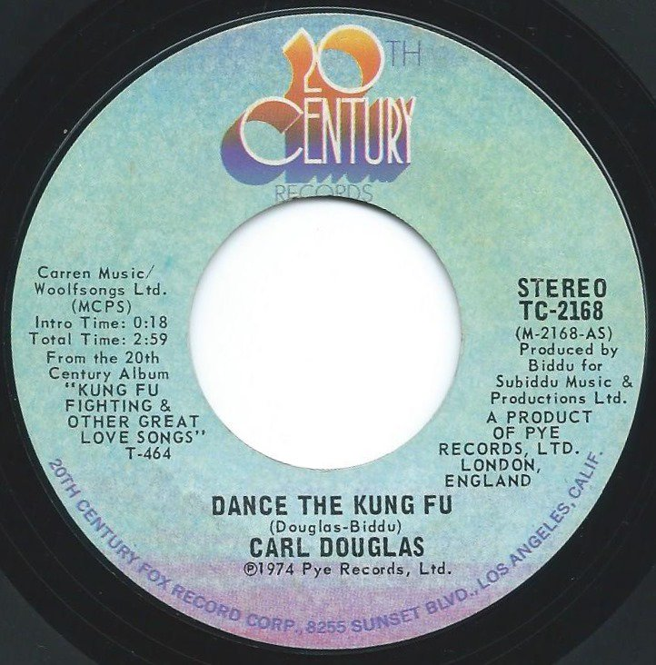 CARL DOUGLAS / DANCE THE KUNG FU (7