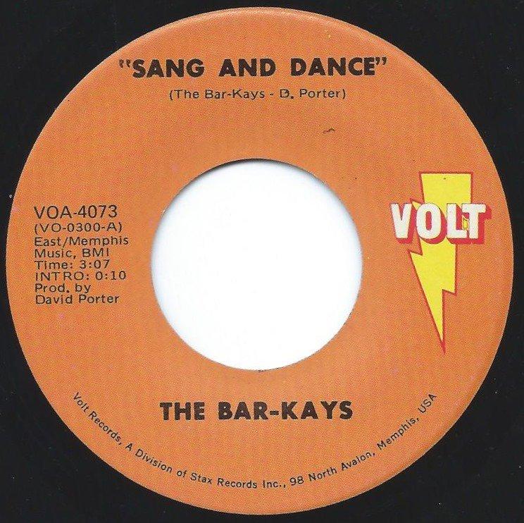 THE BAR-KAYS / SANG AND DANCE / SON OF SHAFT (7