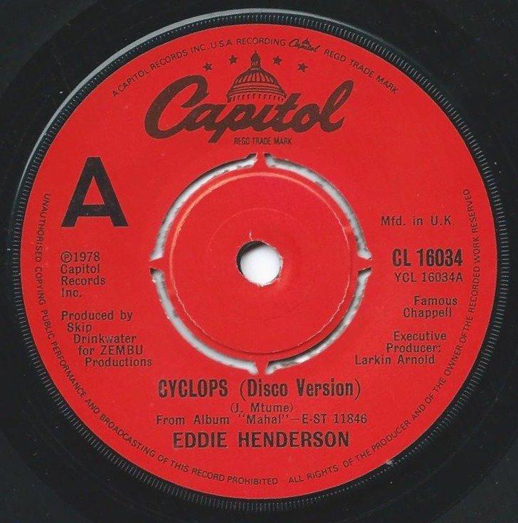 EDDIE HENDERSON / CYCLOPS (DISCO VERSION) (7