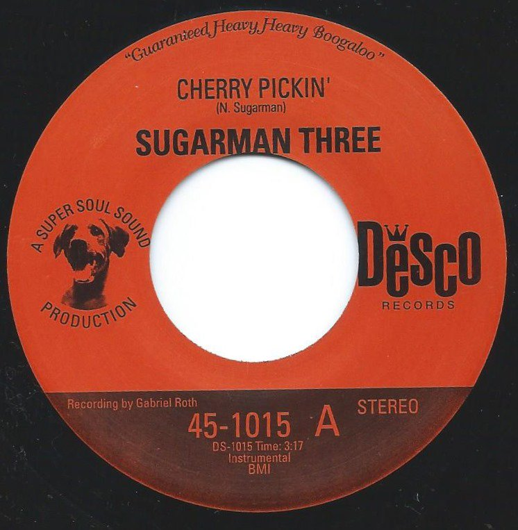 SUGARMAN THREE / CHERRY PICKIN' / TURTLE WALK (7