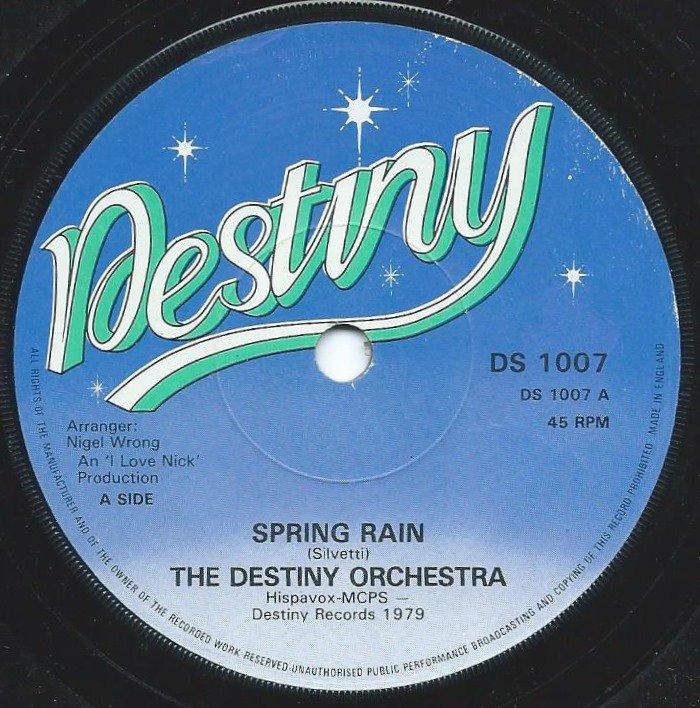 THE DISTINY ORCHESTRA / SPRING RAIN (7