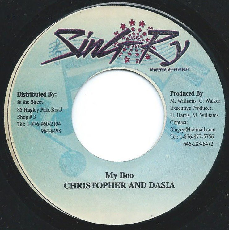 CHRISTOPHER AND DASIA / MY BOO (7