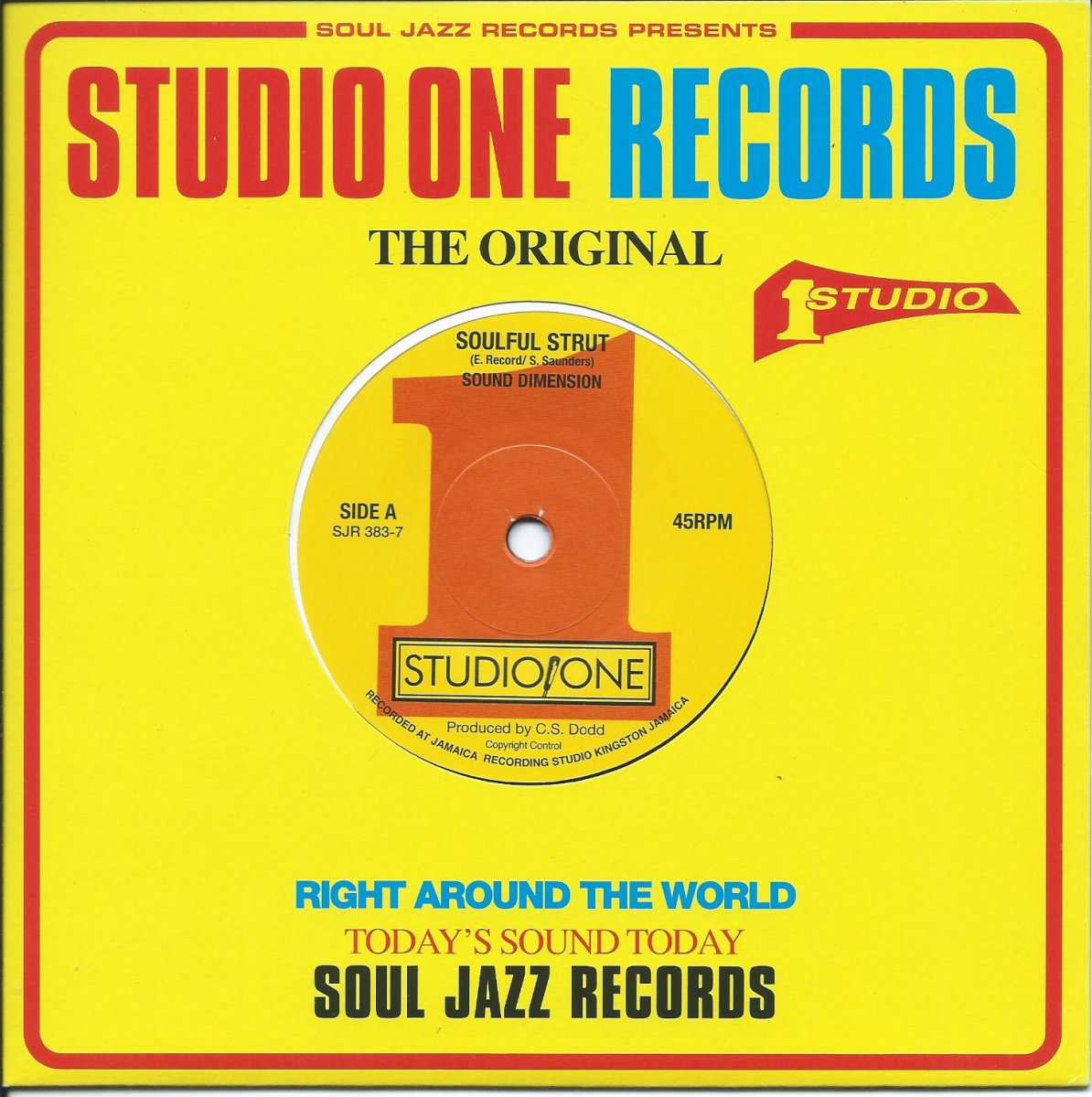 SOUND DIMENSION / SOULFUL STRUT / TIME IS TIGHT (7