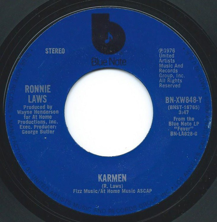 RONNIE LAWS / KARMEN / ALL THE TIME (7