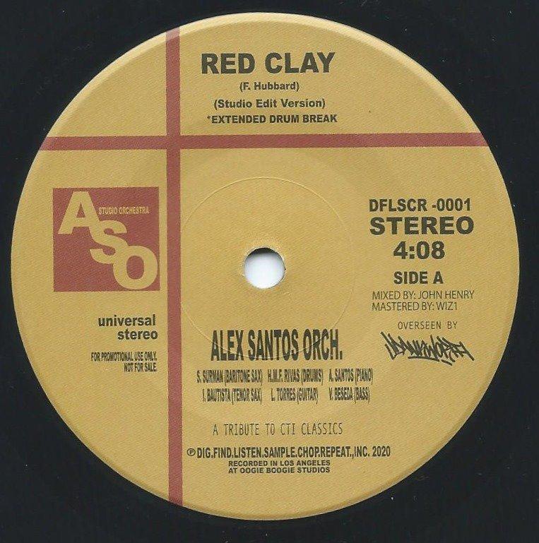 ALEX SANTOS ORCH. / RED CLAY / NAUTILUS (7