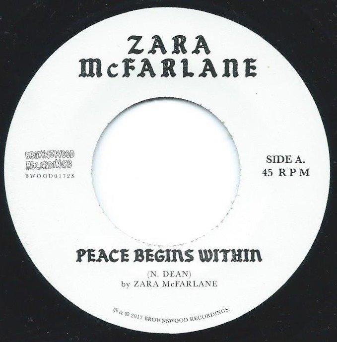 ZARA MCFARLANE / PEACE BEGINS WITHIN (7