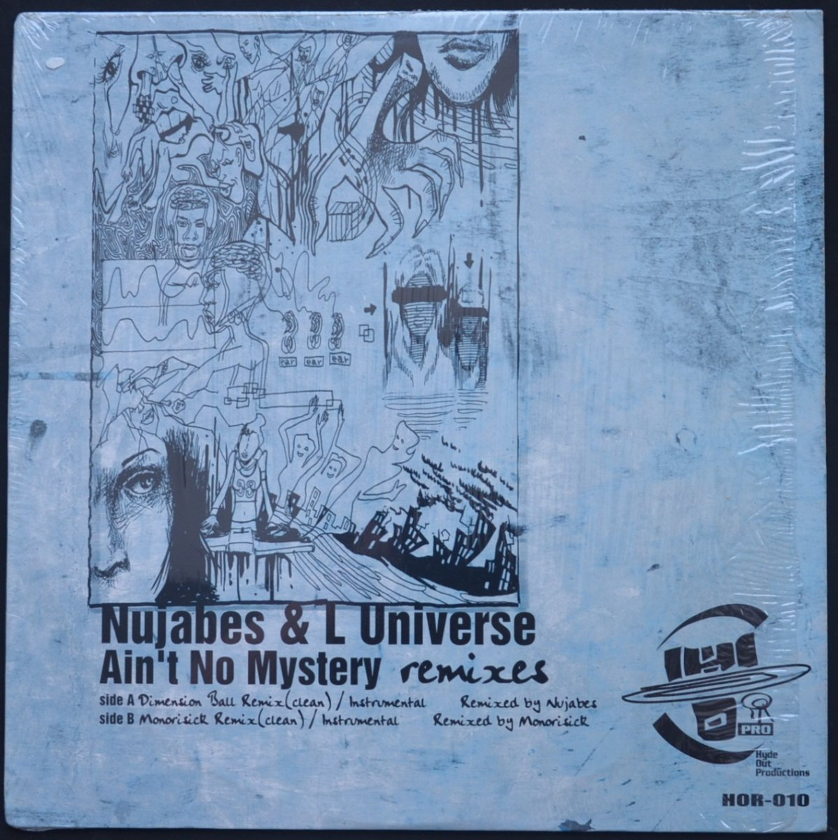 NUJABES FEATURING L-UNIVERSE / AIN'T NO MYSTERY REMIXES (12
