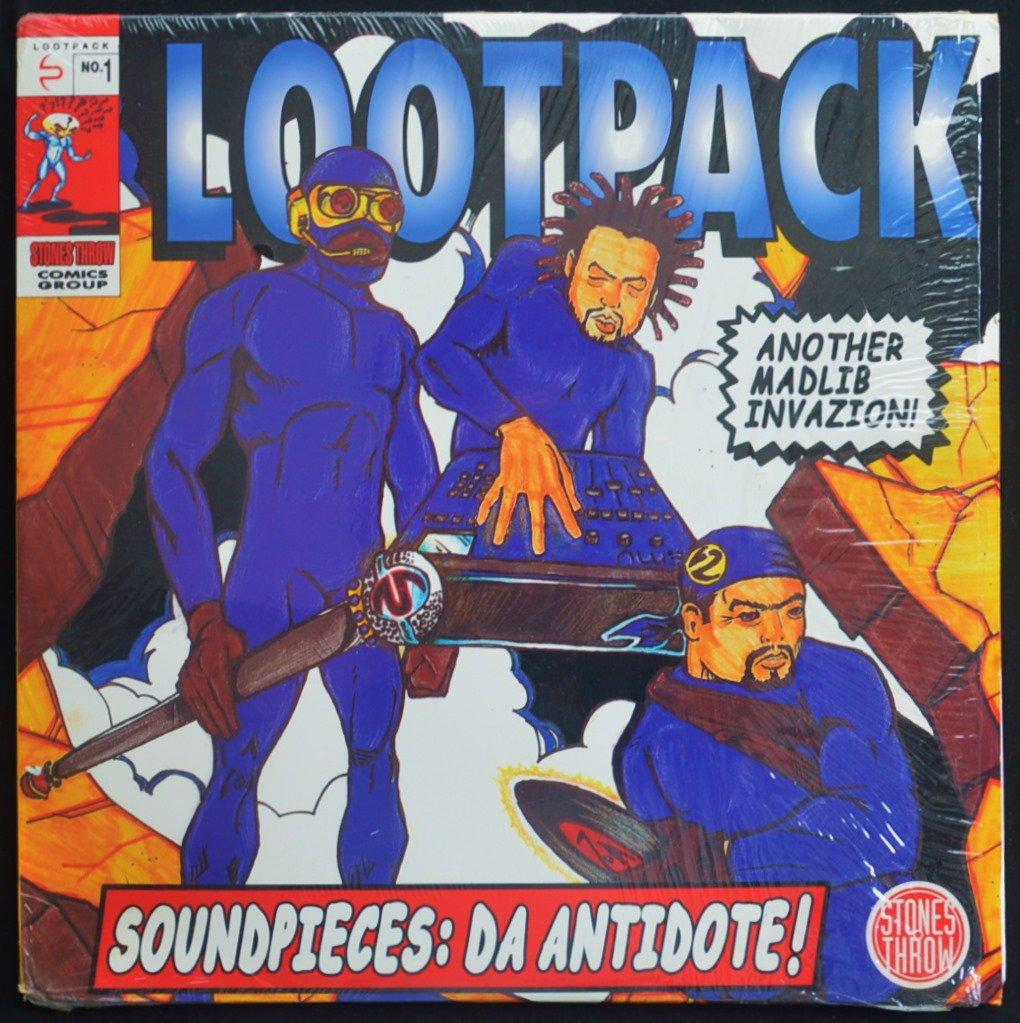 LOOTPACK / SOUNDPIECES: DA ANTIDOTE! (3LP)