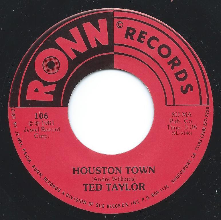 TED TAYLOR / HOUSTON TOWN / CUMMINS PRISON FARM (7