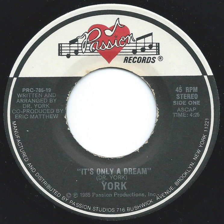 YORK / IT'S ONLY A DREAM (7
