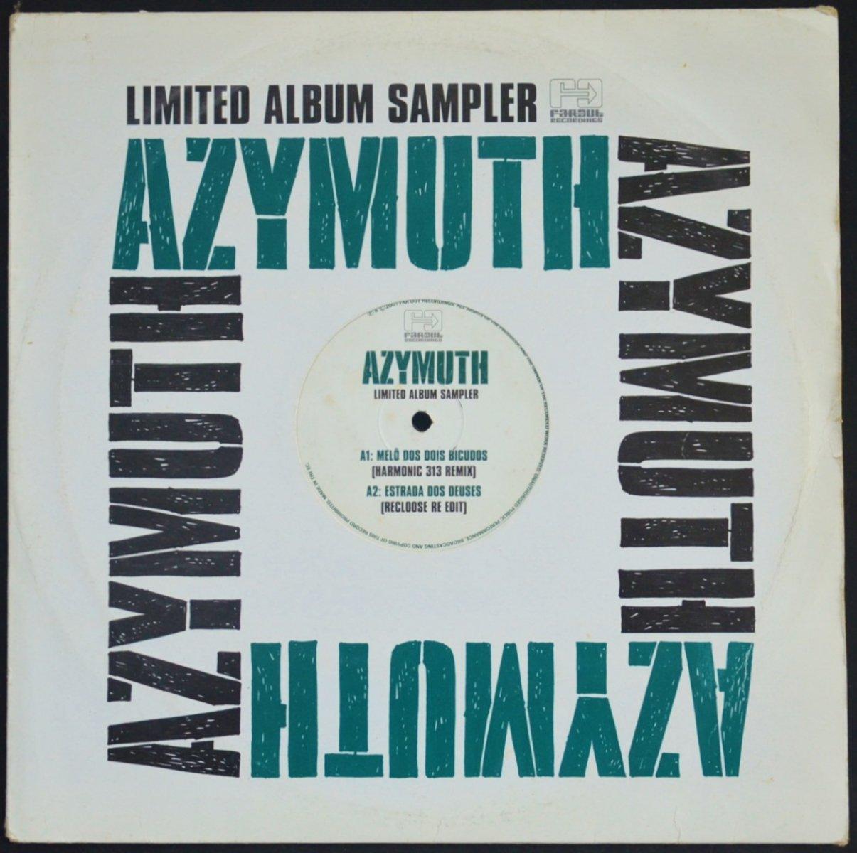 AZYMUTH / MELÔ DOS DOIS BICUDOS / ESTRADA DOS DEUSES (LIMITED ALBUM SAMPLER) (12