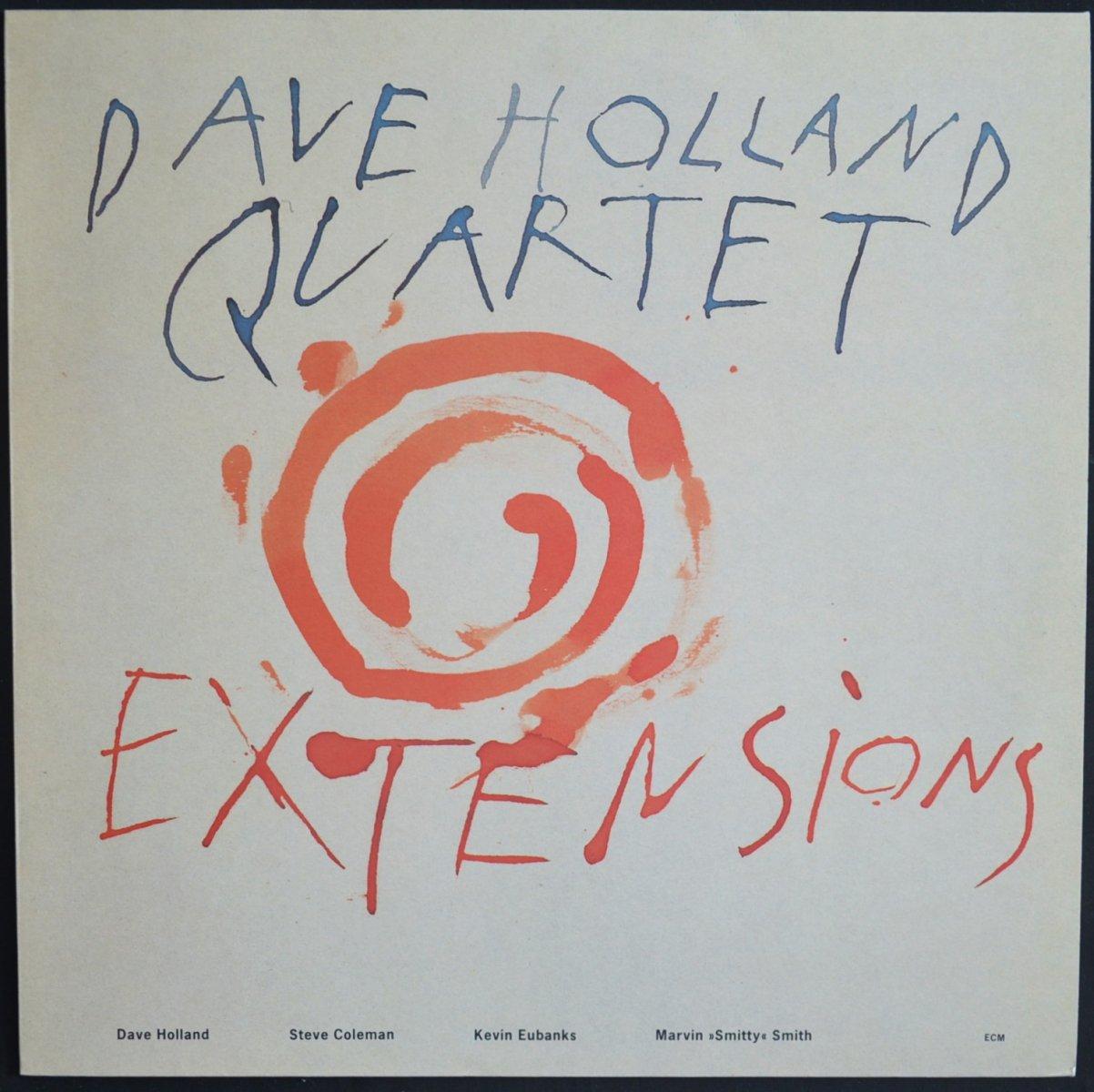 DAVE HOLLAND QUARTET / EXTENSIONS (LP)