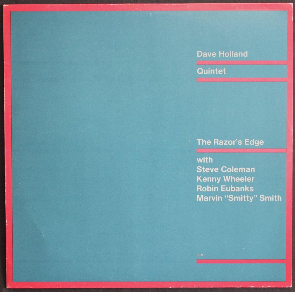 DAVE HOLLAND QUINTET / THE RAZOR'S EDGE (LP)