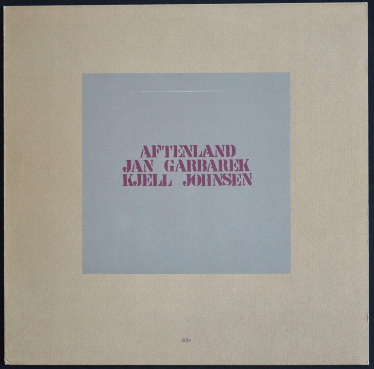 JAN GARBAREK,KJELL JOHNSEN / AFTENLAND (LP)