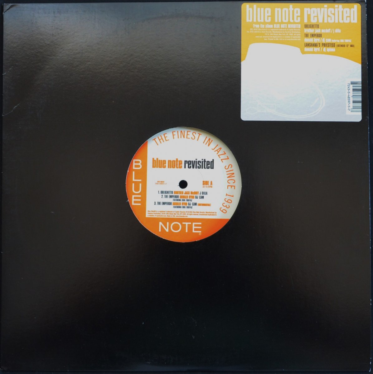 V.A.(BROTHER JACK MCDUFF / J DILLA...) / OBLIGHETTO (BLUE NOTE REVISITED) (12