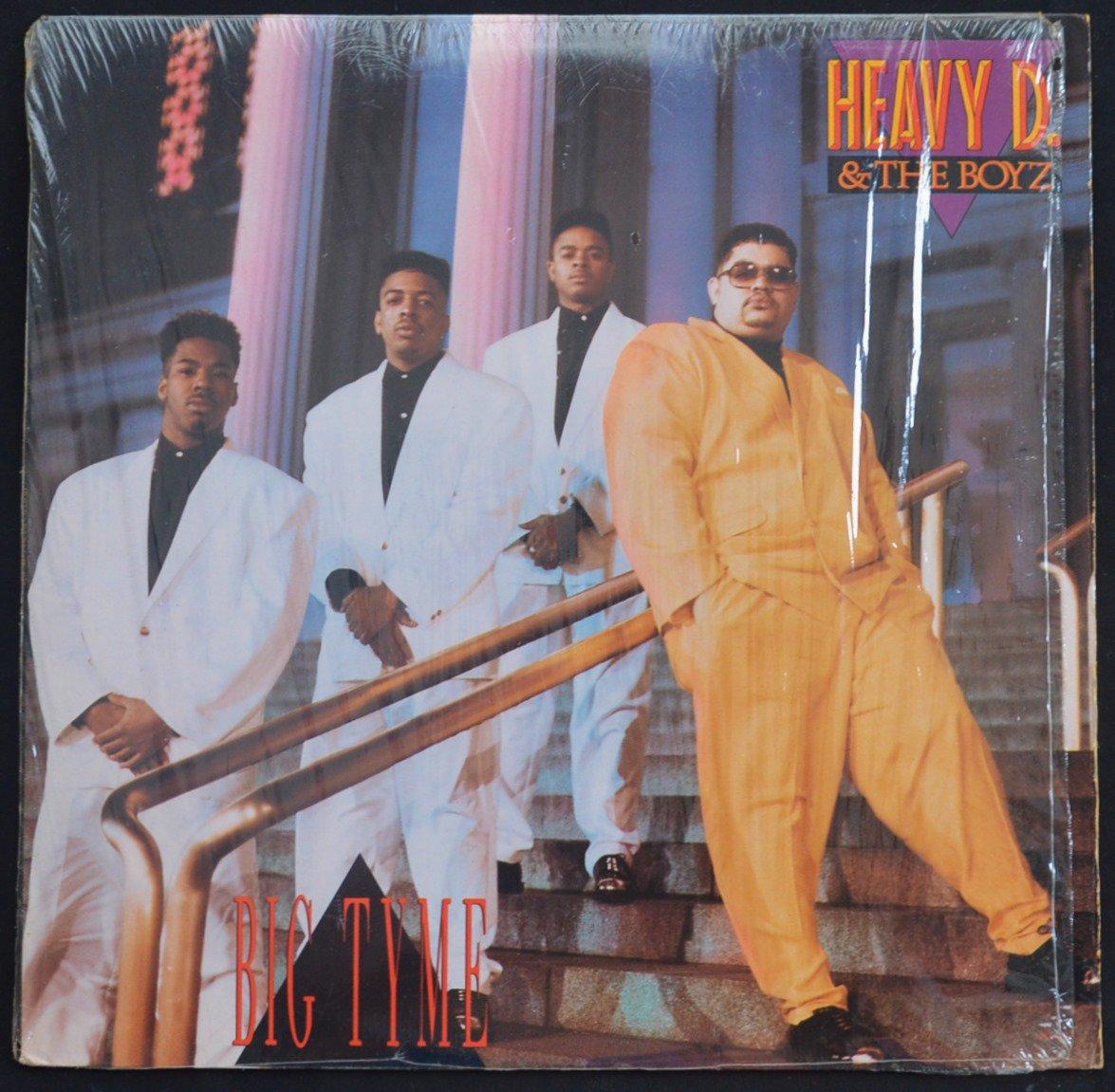 HEAVY D. & THE BOYZ / BIG TYME (1LP)