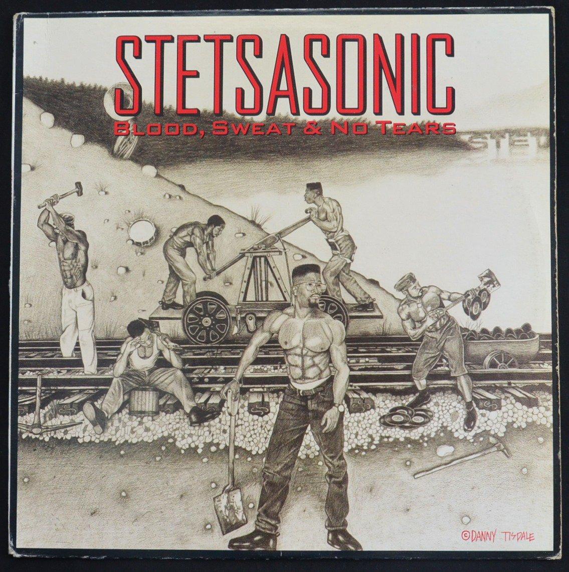 STETSASONIC / BLOOD, SWEAT & NO TEARS (1LP)