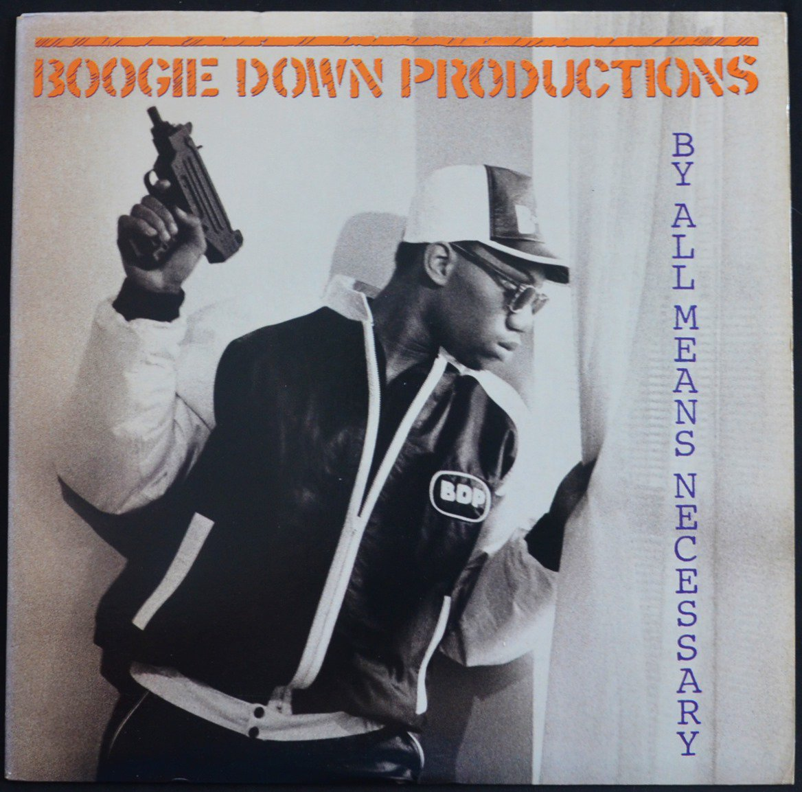 BOOGIE DOWN PRODUCTIONS / BY ALL MEANS NECESSARY (1LP)