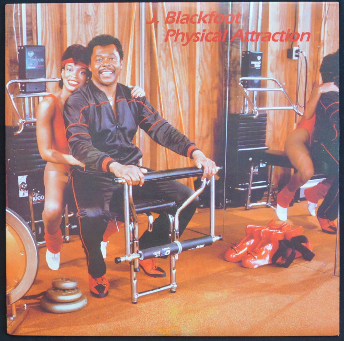 J. BLACKFOOT / PHYSICAL ATTRACTION (LP)