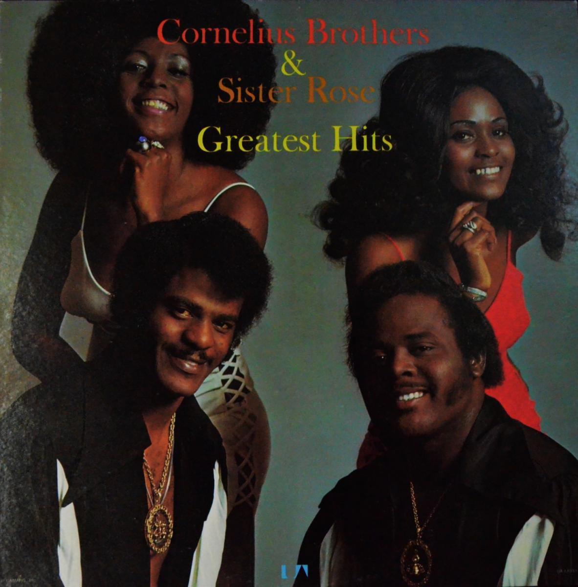 CORNELIUS BROTHERS & SISTER ROSE / GREATEST HITS (LP)