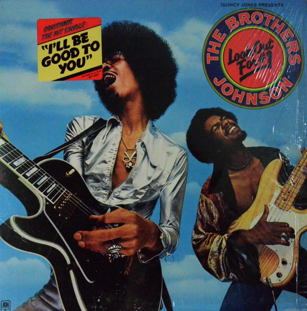 THE BROTHERS JOHNSON / LOOK OUT FOR #1 (LP)