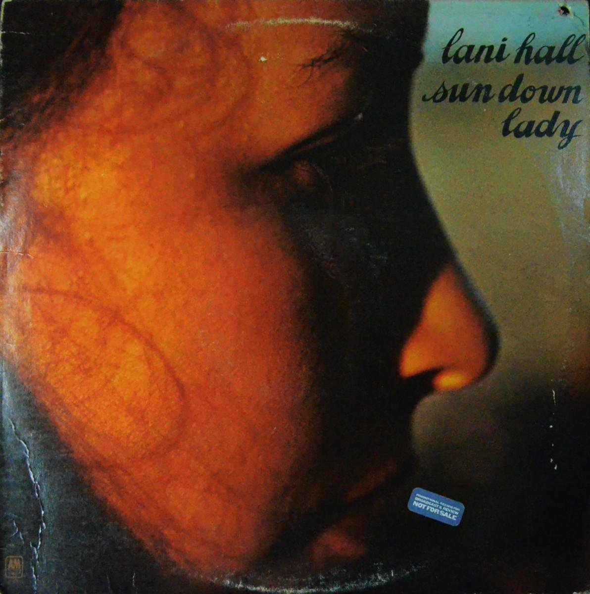 LANI HALL / SUN DOWN LADY (LP)