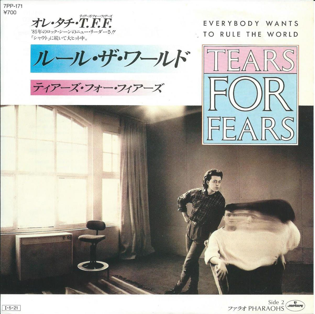 TEARS FOR FEARS ティアーズ・フォー・フィアーズ / EVERYBODY WANTS TO RULE THE WORLD  (7