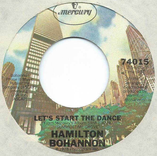HAMILTON BOHANNON / LET'S START THE DANCE (7