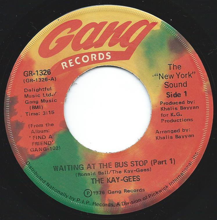 THE KAY-GEES / WAITING AT THE BUS STOP (7