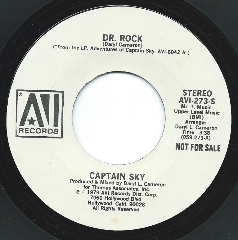 CAPTAIN SKY / DR. ROCK (7