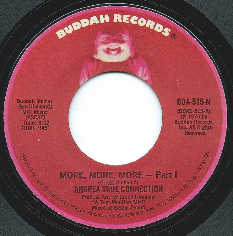 ANDREA TRUE CONNECTION / MORE,MORE,MORE (7
