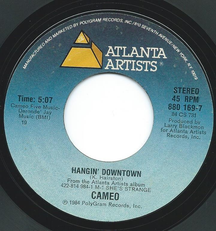 CAMEO / HANGIN' DOWNTOWN (7