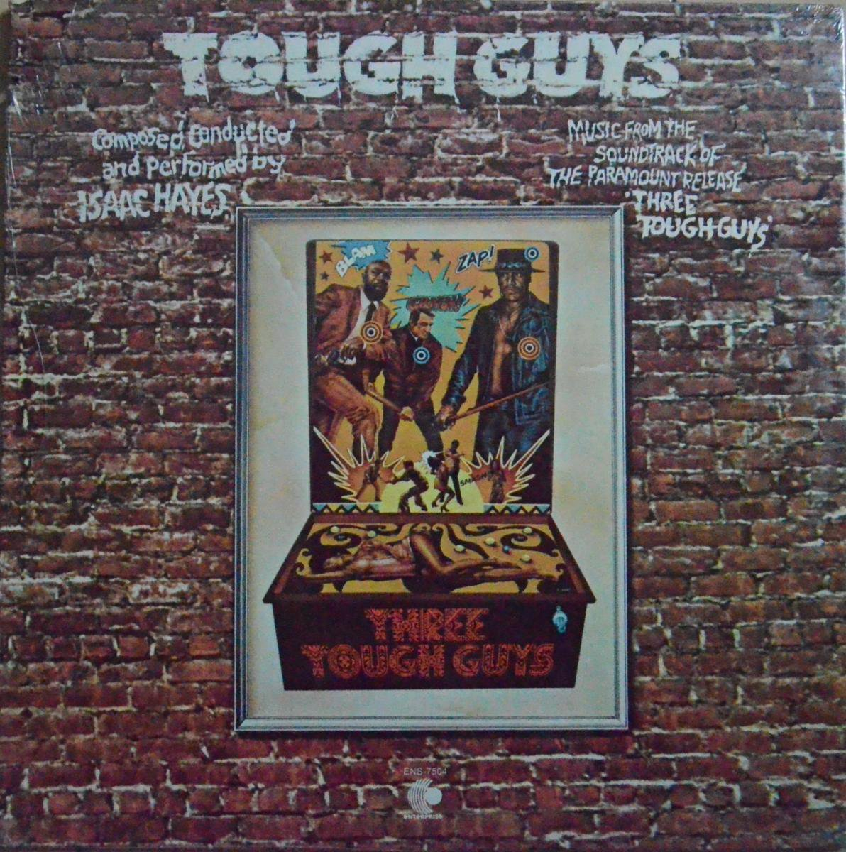 O.S.T. (ISAAC HAYES) / TOUGH GUYS (LP)
