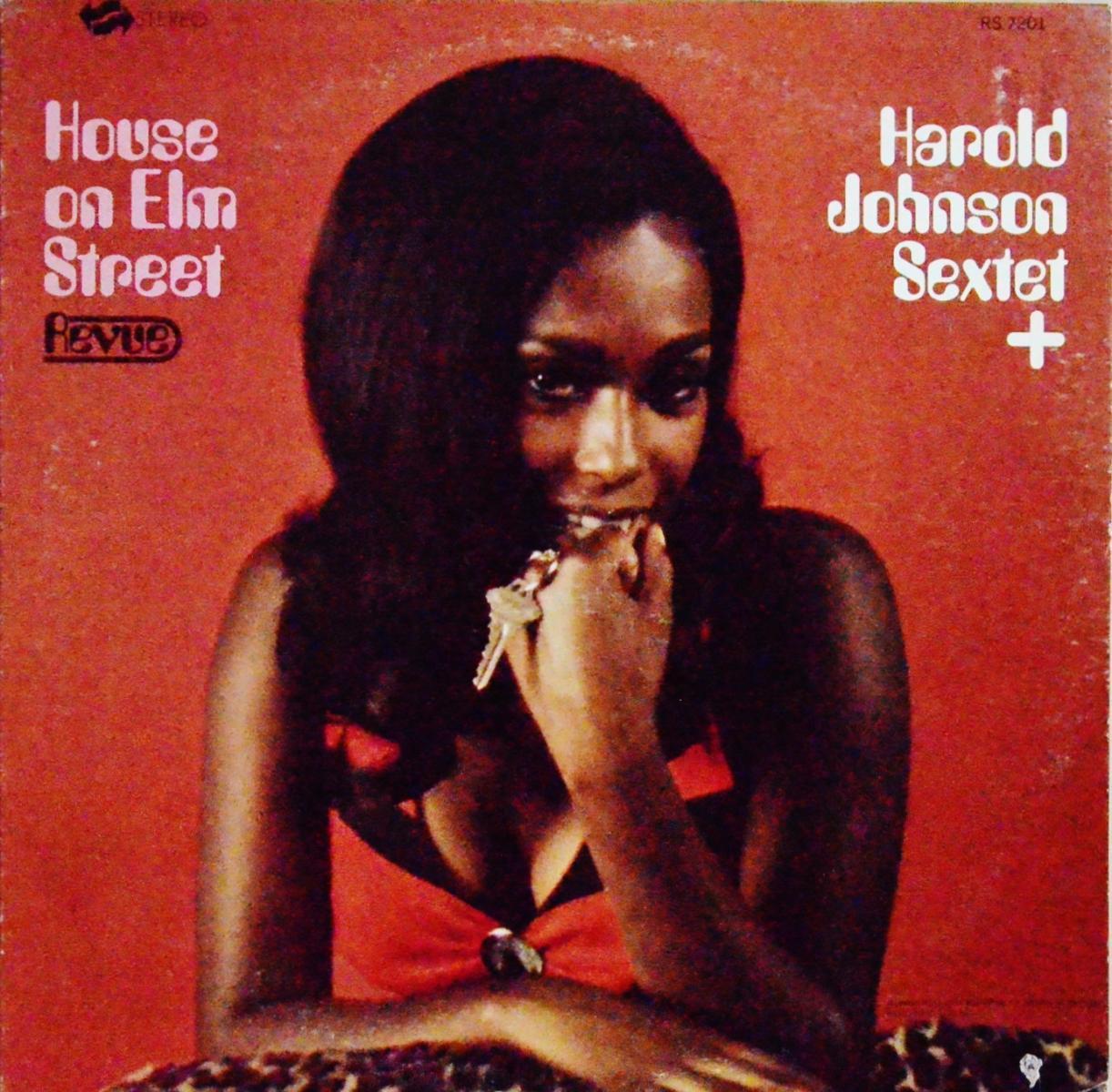 HAROLD JOHNSON SEXTET+ / HOUSE ON ELM STREET (LP)