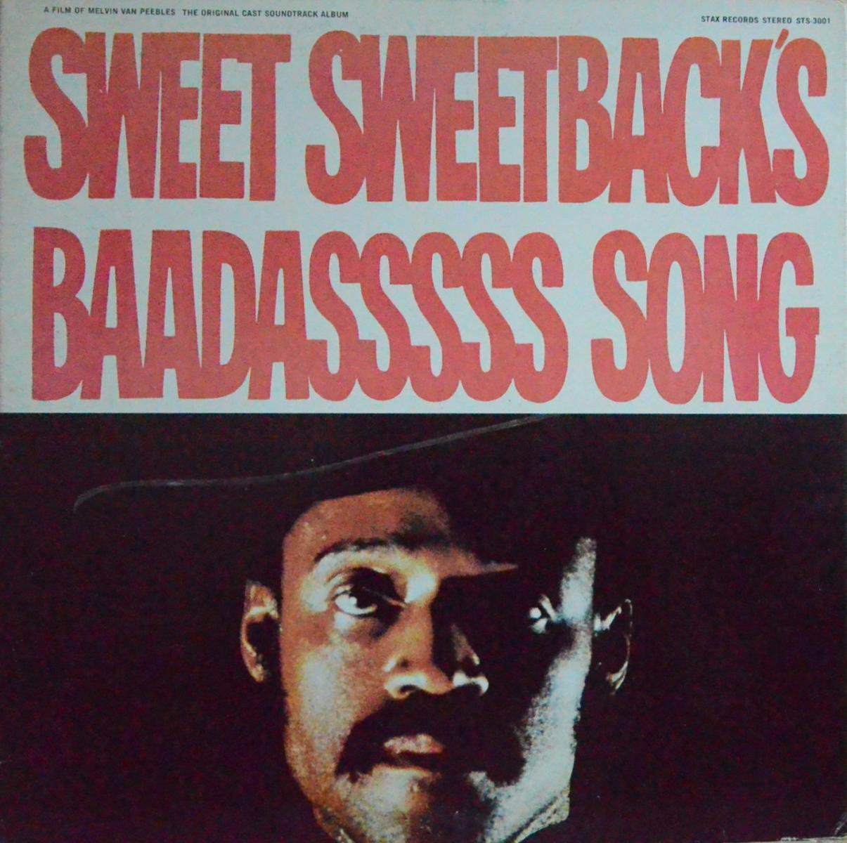 O.S.T.(MELVIN VAN PEEBLES) / SWEET SWEETBACK'S BAADASSSSS SONG (LP)