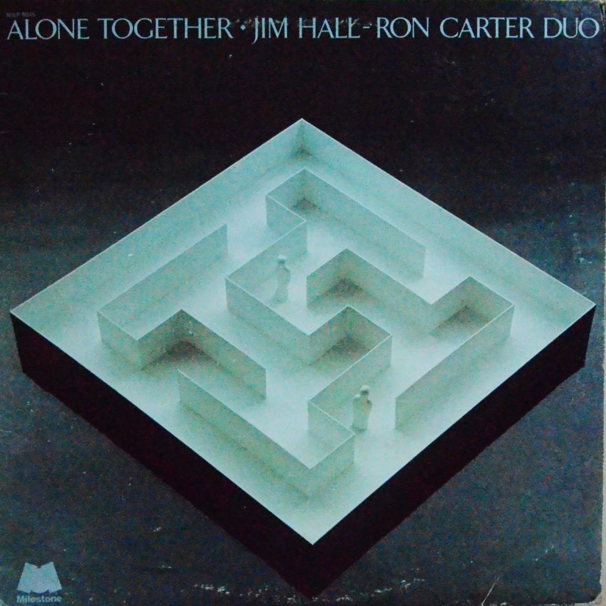 JIM HALL-RON CARTER DUO / ALONE TOGETHER (LP)