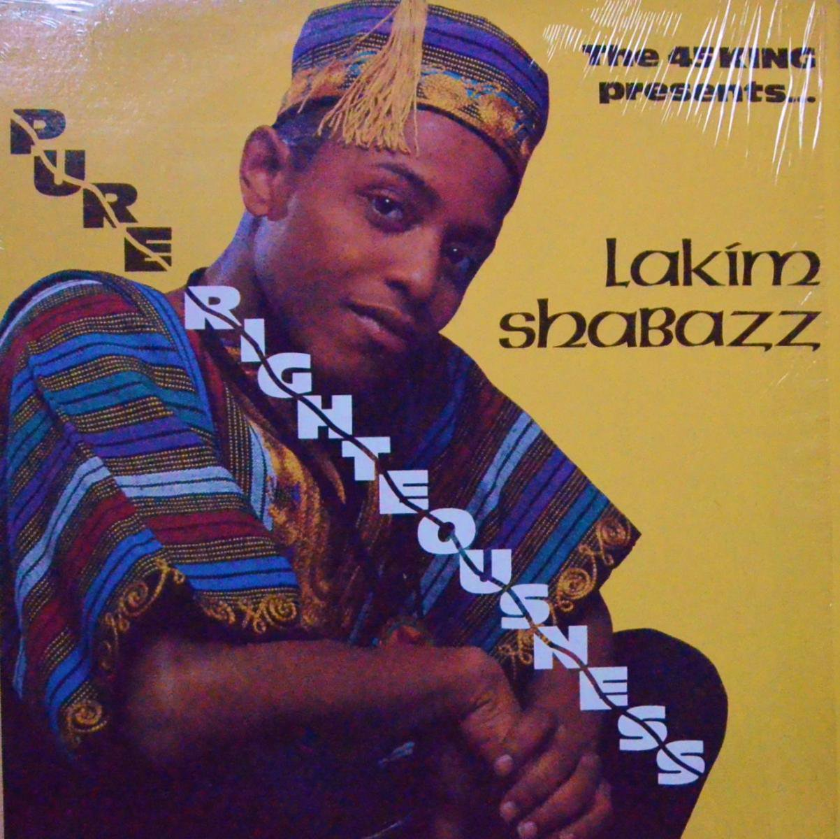 LAKIM SHABAZZ / PURE RIGHTEOUSNESS (LP)