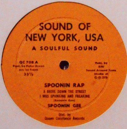 SPOONIN GEE / SPOONIN RAP (12