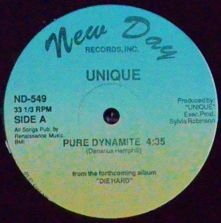 UNIQUE / PURE DYNAMITE / AXE-MANIAC (12