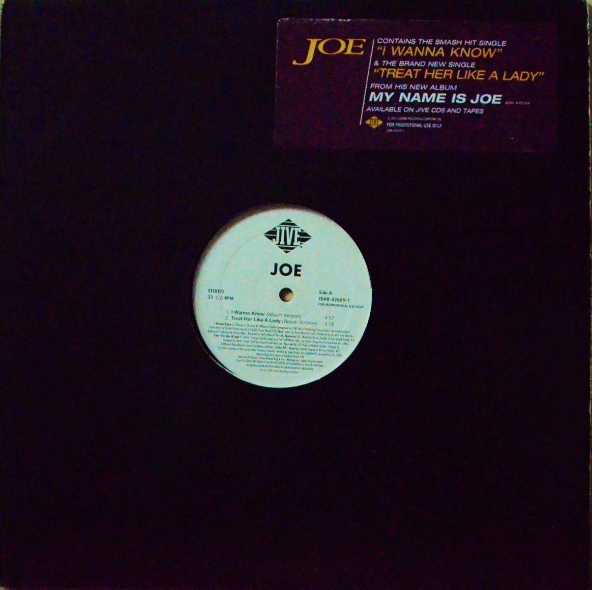 JOE / I WANNA KNOW (12