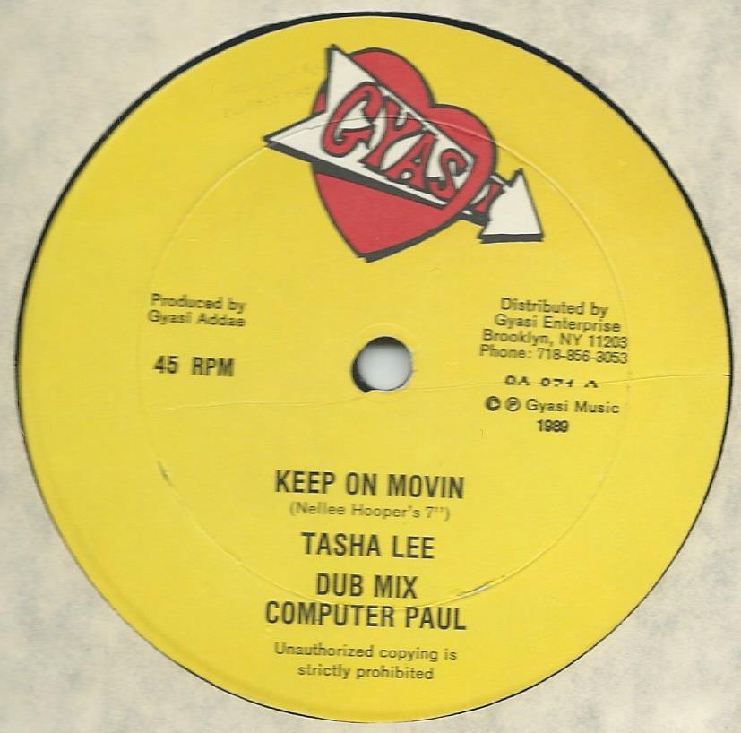 TASHA LEE / KEEP ON MOVIN (12